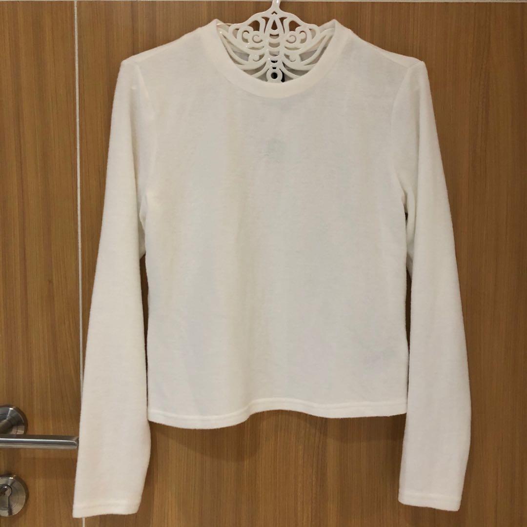 hnm white top