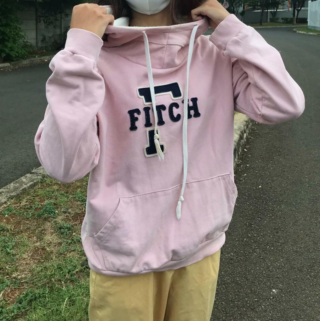 Hoodie baby pink!