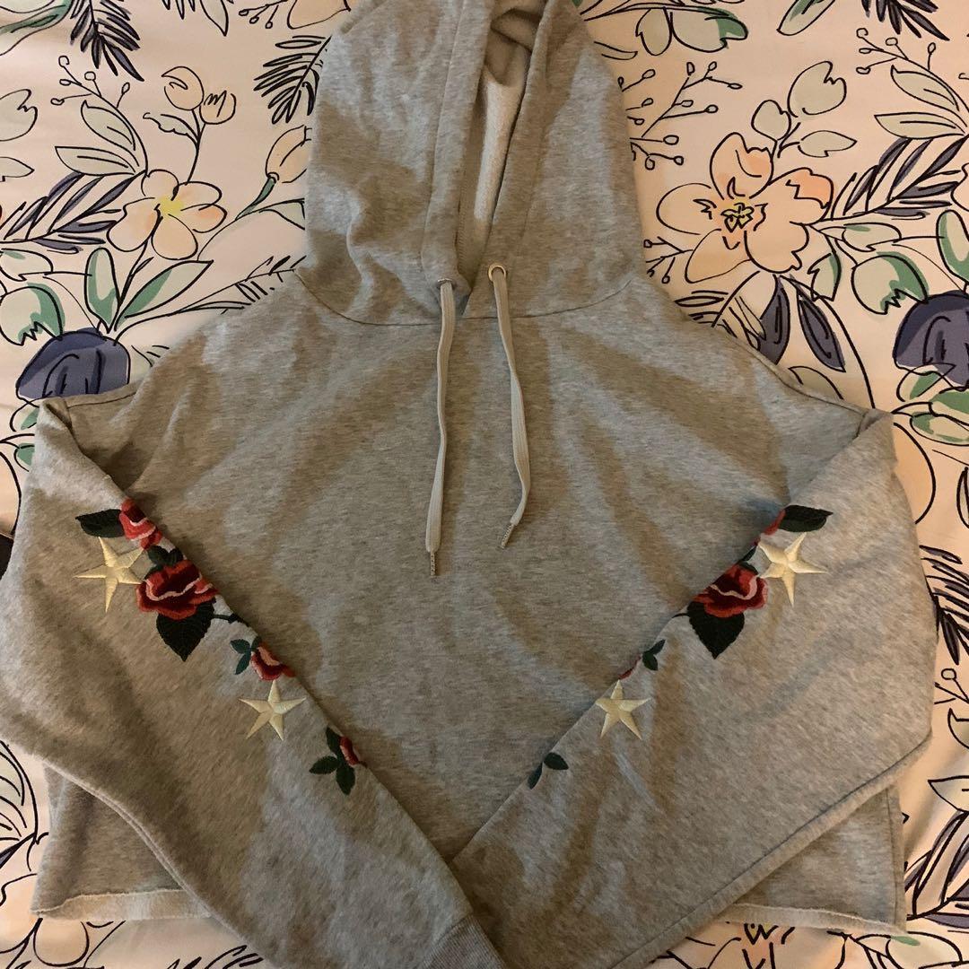 hoodie crop