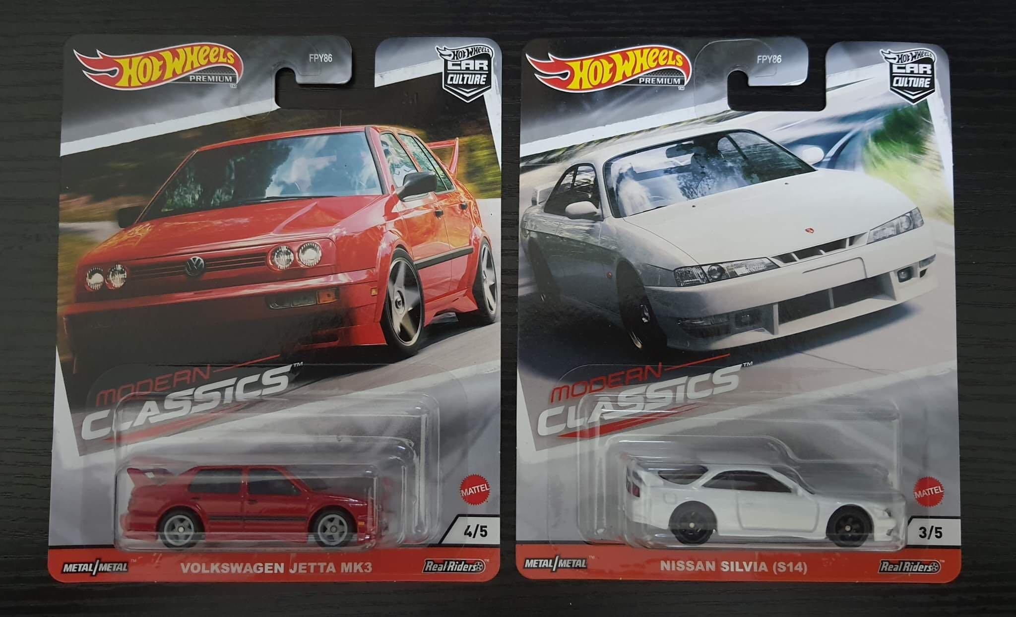 Hot Wheels Modern Classics Nissan Silvia S14 Volkswagen Jetta Toys Games Diecast Toy Vehicles On Carousell