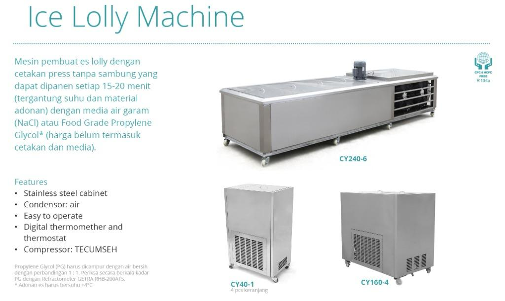 ICE LOLLY MACHINE(CY40-1)