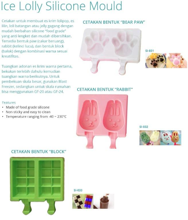 ICE LOLLY SILICONE MOULD (S1-032)