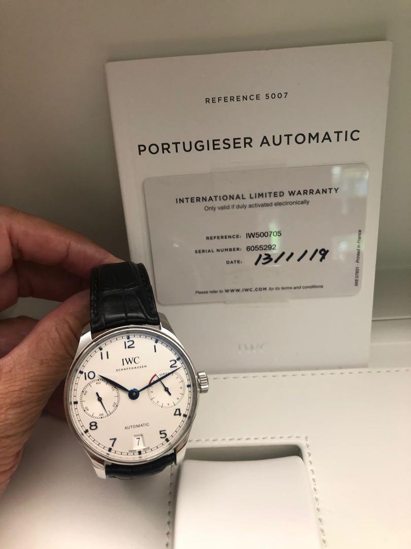 Iwc Portugieser Automatic 7 Days