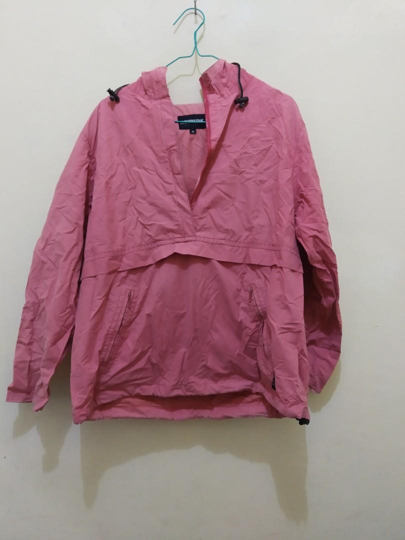 Jaket outdoor Pink