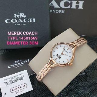 Jam tangan coach 💯%
