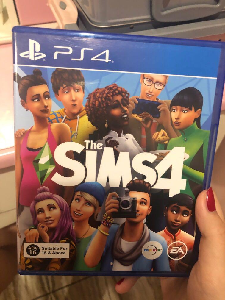 Kaset PS4 the sims 4