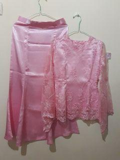 Set Kebaya pink