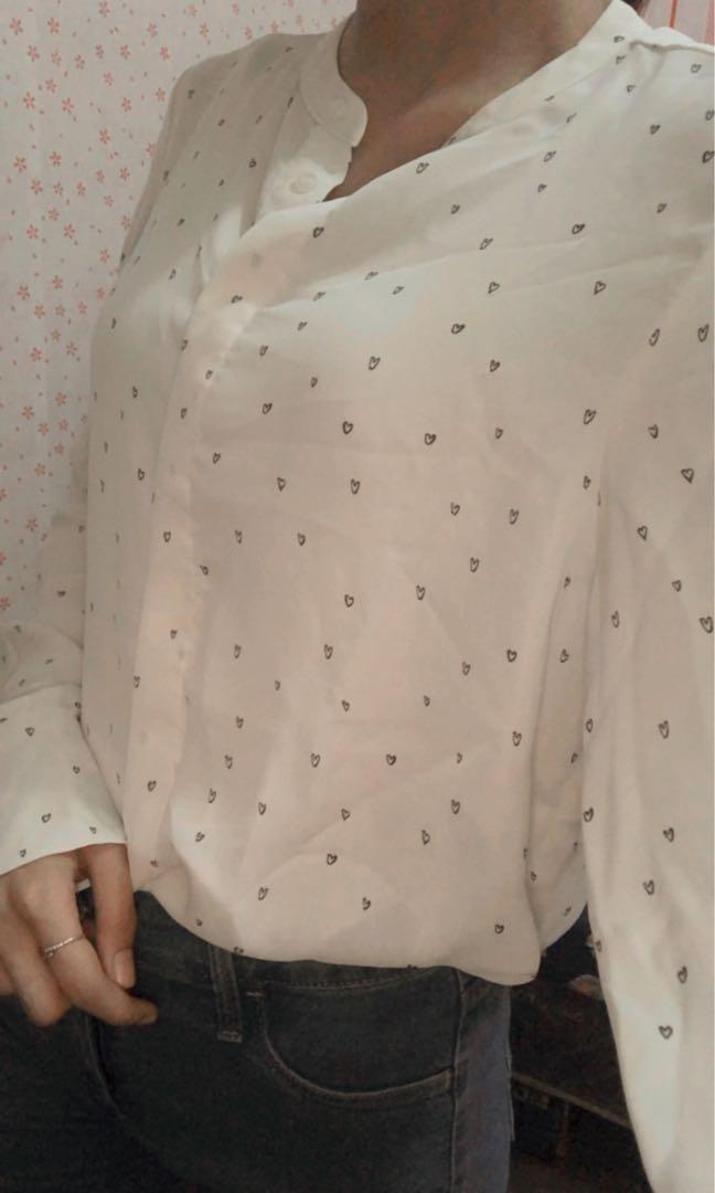 kemeja h&m shirt