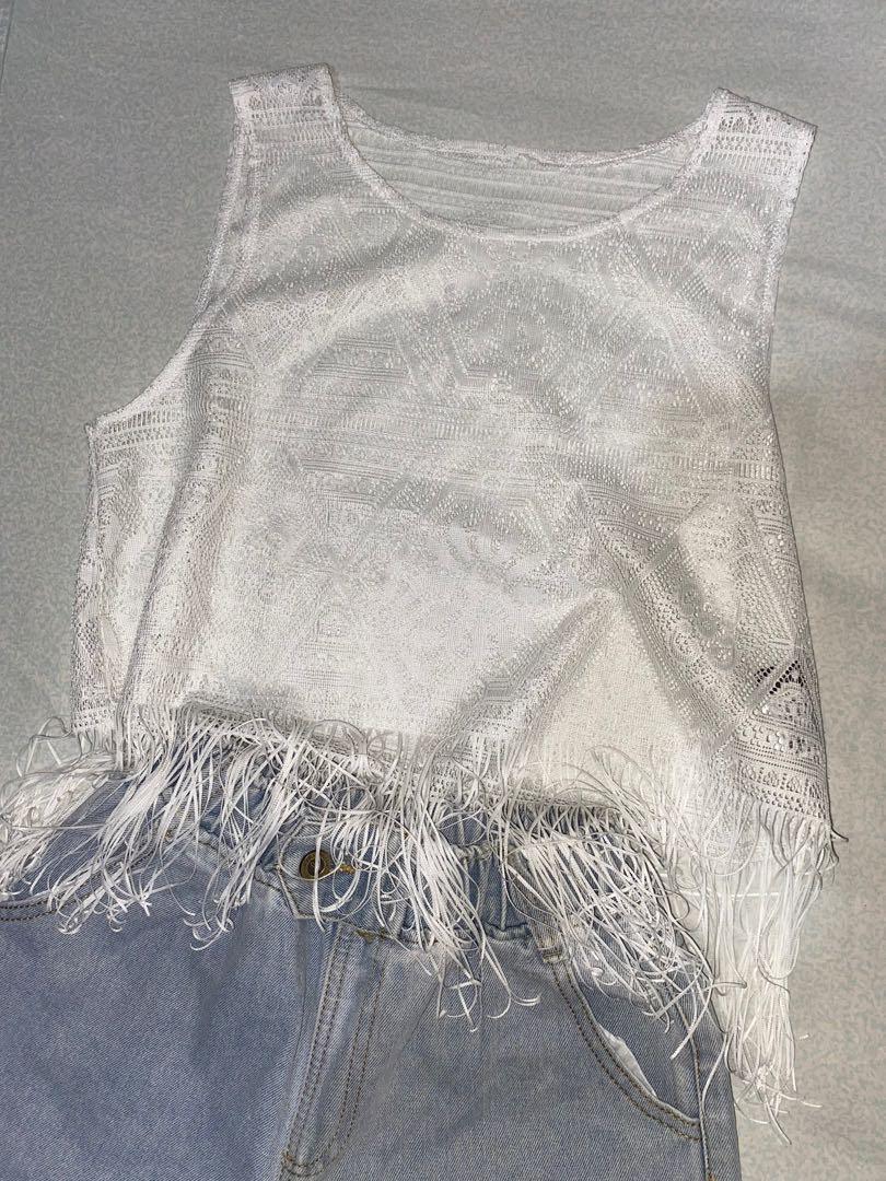 Lace Transparent Top