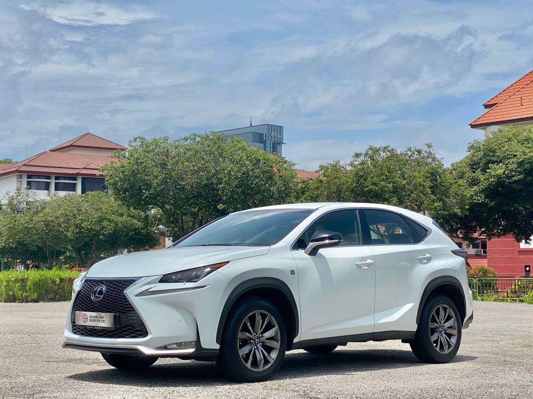 Lexus NX Turbo 200t f sports Auto