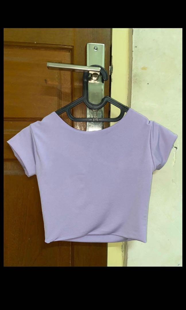Lilac purple crop