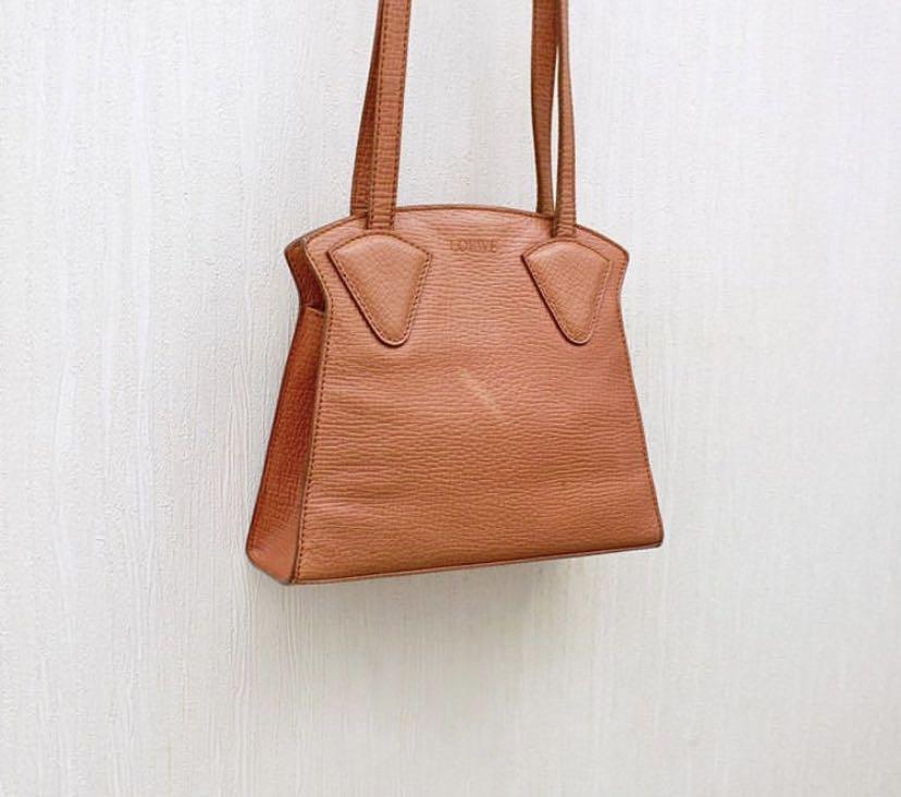 Loewe Vintage Geometric Shoulder Bag