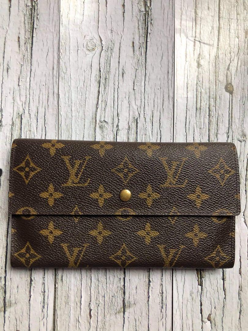 Louis Vuitton wallet international vintage authentic