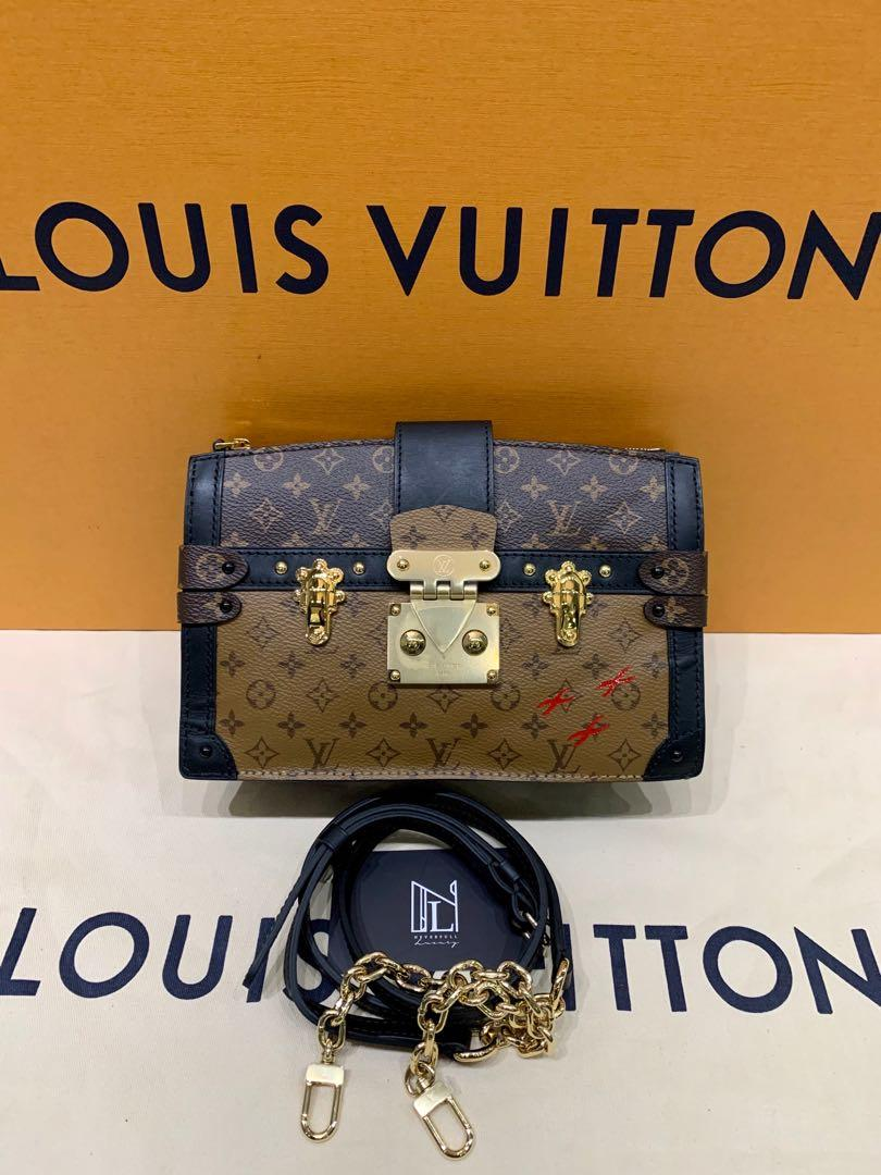 LV Trunk Clutch Monogram&Monogram Reverse