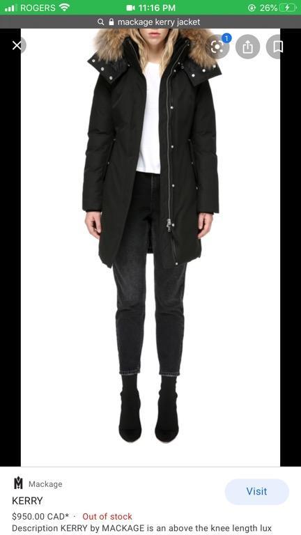 Mackage Kerry Winter Jacket