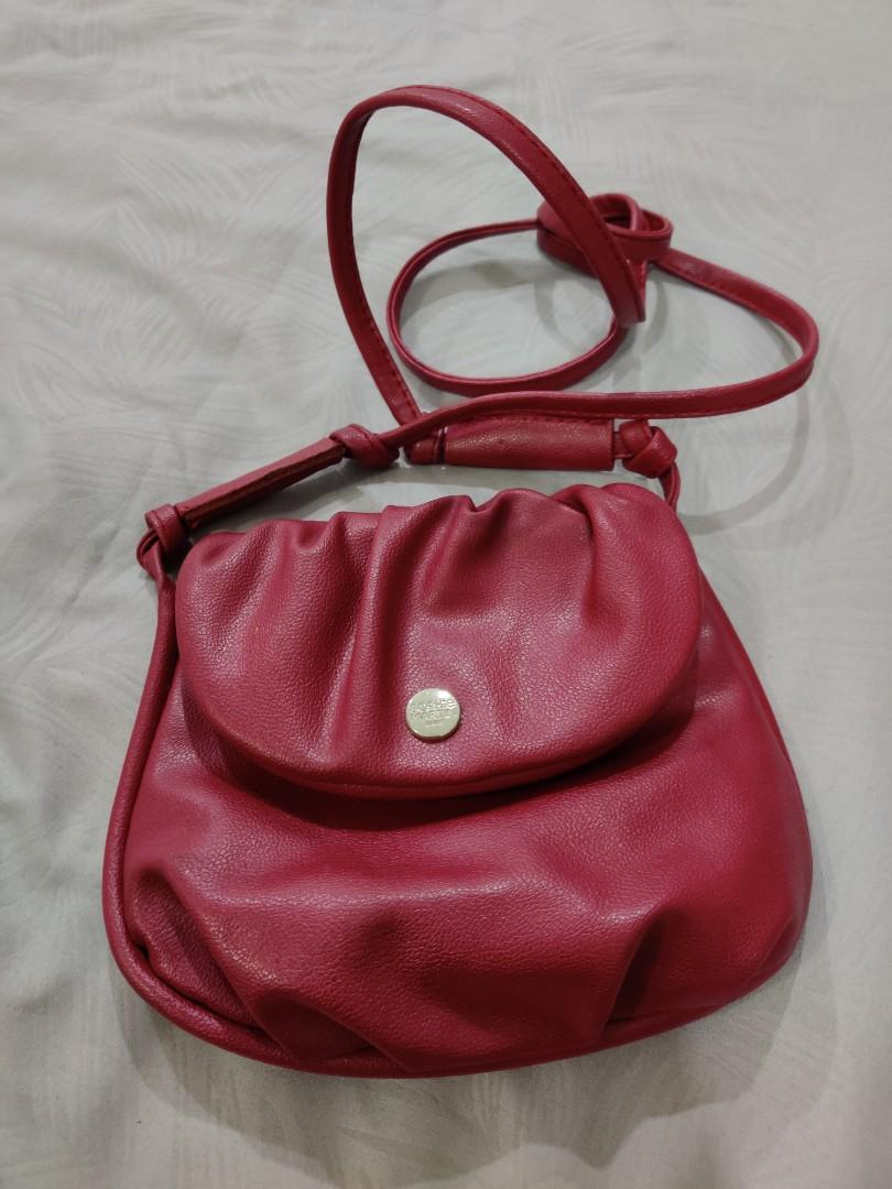 Magenta Sling Bag