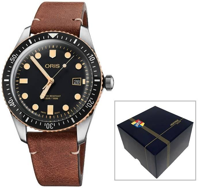 Men Authentic01 733 7720 4354-07 5 21 45 - ORIS Mod. DIVERS SIXTY-FIVE Watch