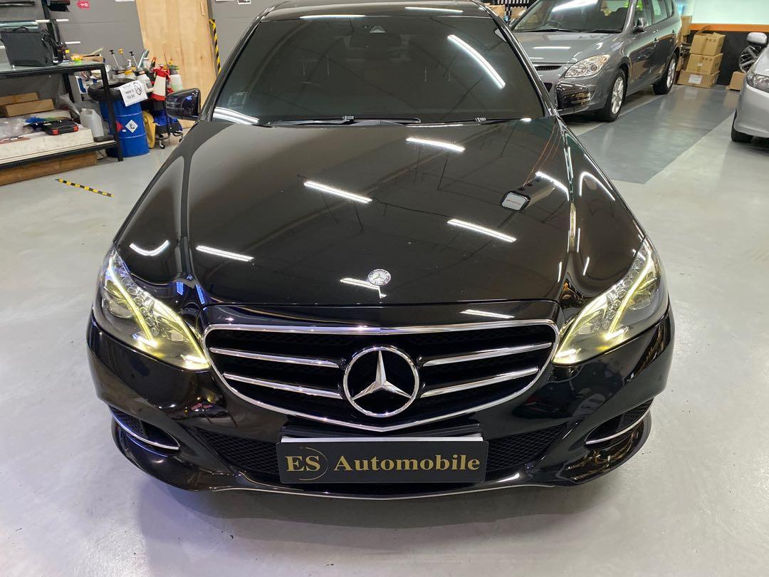Mercedes-Benz E250 Avantgarde 7G-Tronic (A)