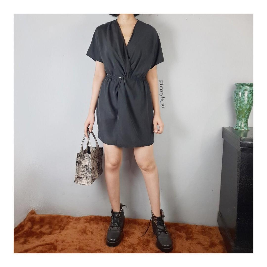Mididress/tunic/long dress/jumpsuit/overall/ oversized dress shirt/top/kemeja/blouse HnM/atasan