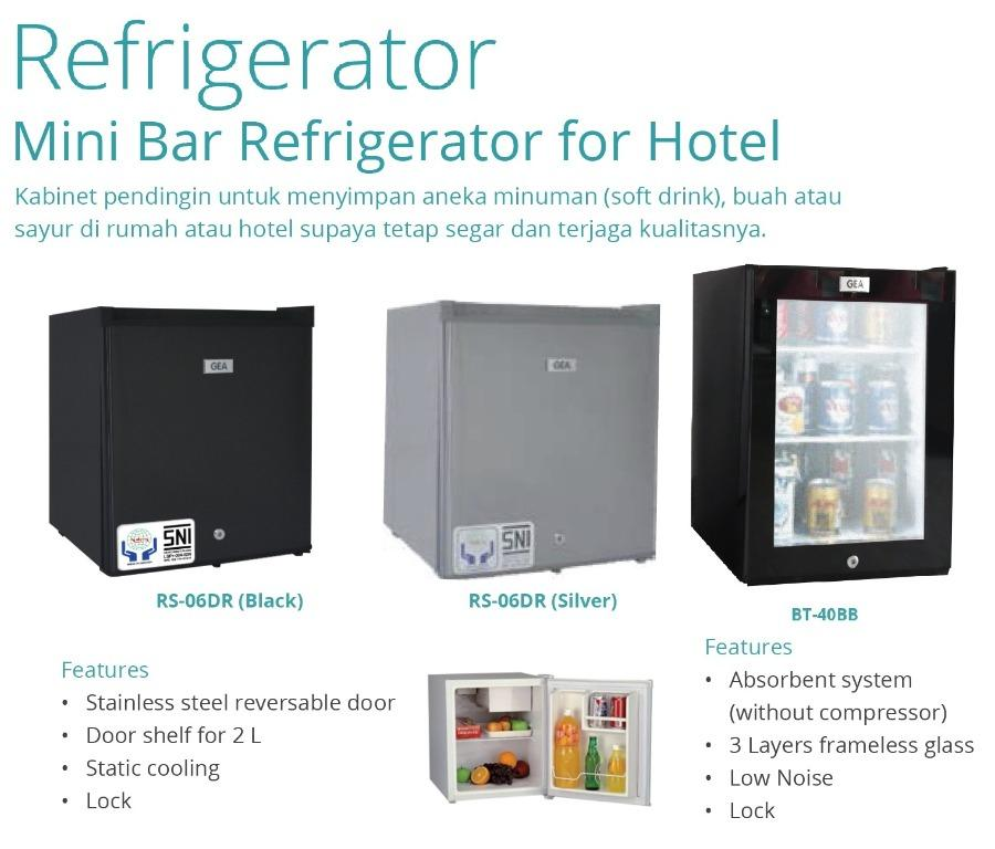 MINI BAR REFRIGERATOR FOR HOTEL(RS-06DR(BLACK)