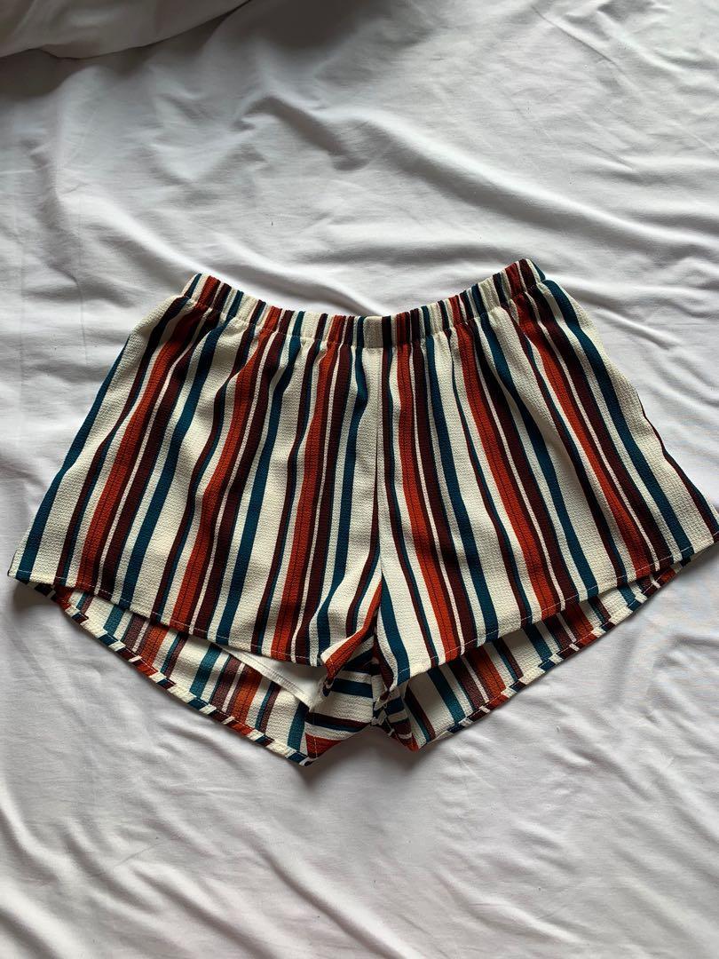 Multi coloured shorts
