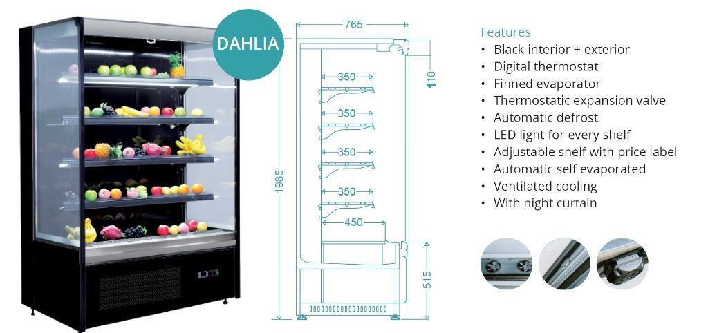 MULTIDECK OPENED CHLLER(DAHLIA-1080)