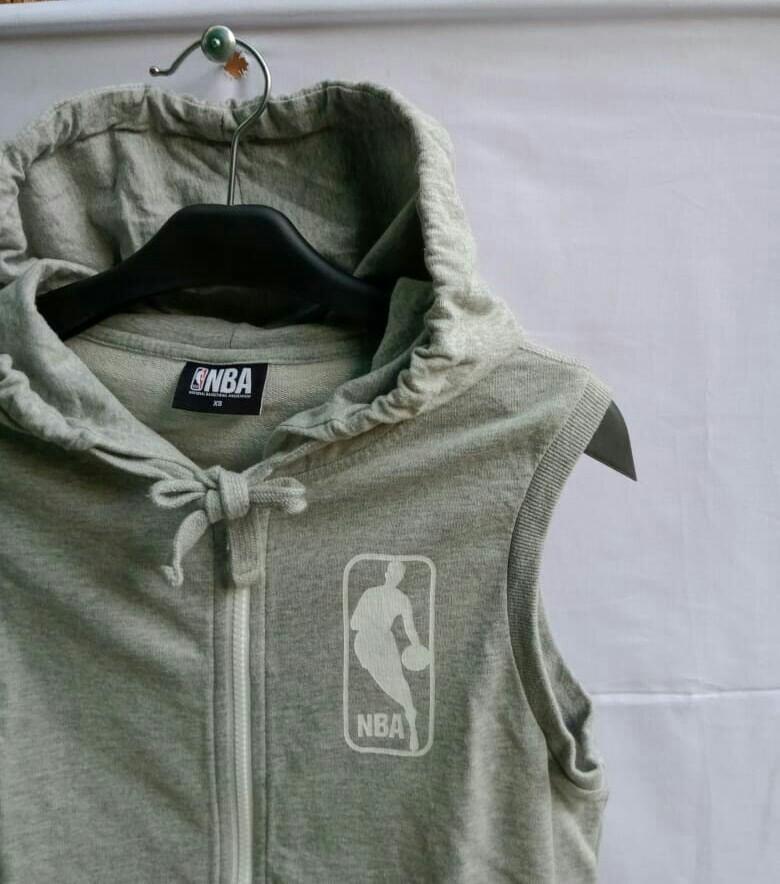 NBA vest zip hoodie