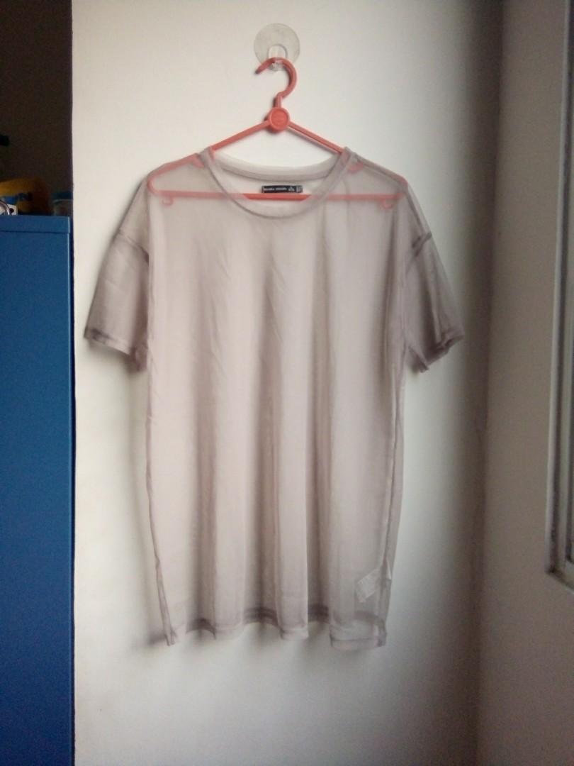 New - Bershka Tulle T-Shirt