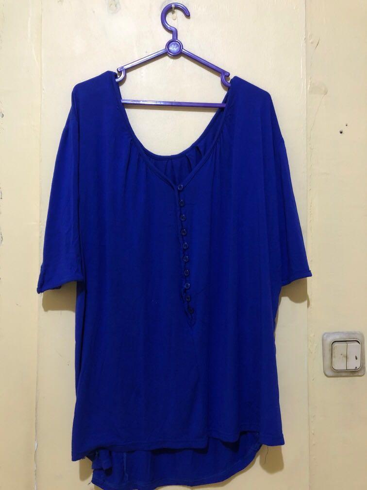 New atasan baju baru jumbo size bumil busui hamil menyusui friendly