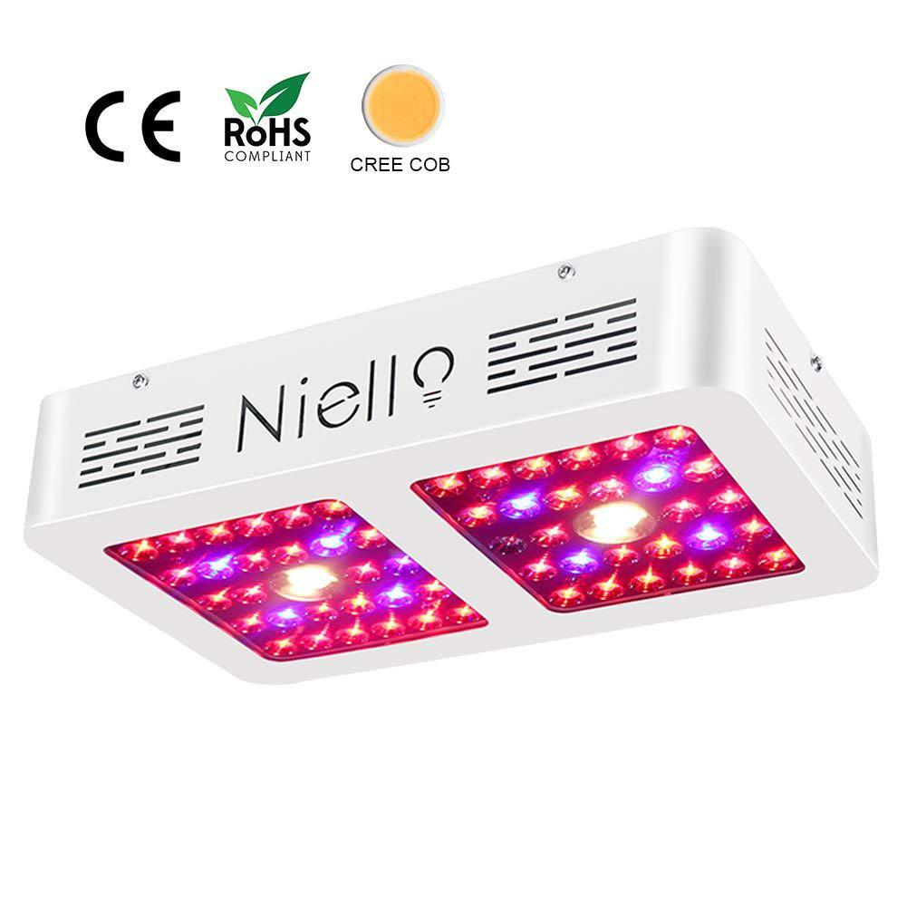 NIELLO Led Growing up Light for Indoor Plant / Garden + 4 Insect Repeller