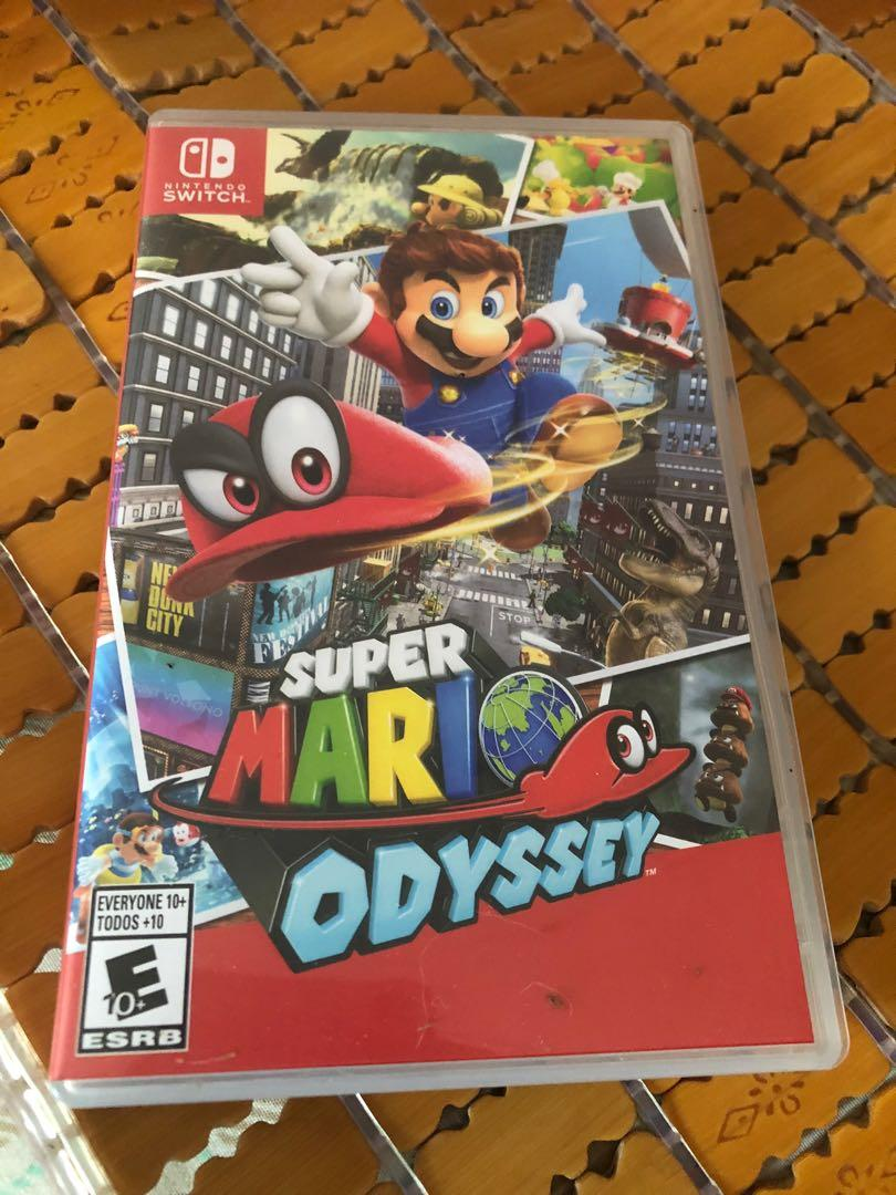 NS switch super mario odyssey