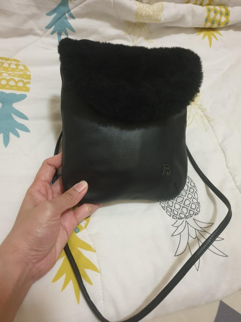 On hand authentic bonia sling bag