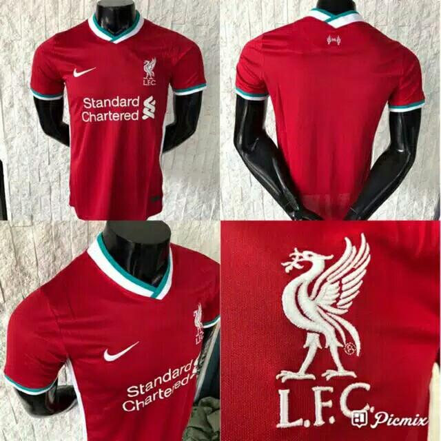 Paket jersey liverpool home 20/21
