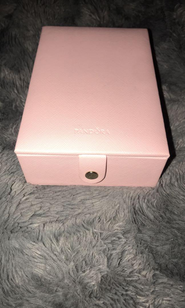 Pandora baby pink jewelry box