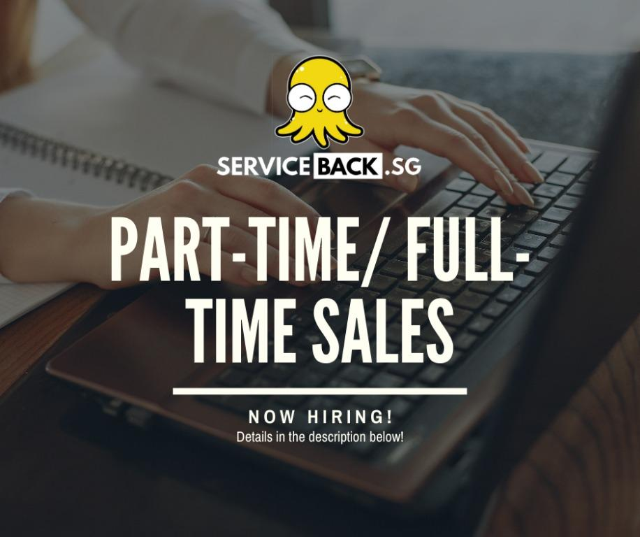 PART-TIME/FULL-TIME SALES