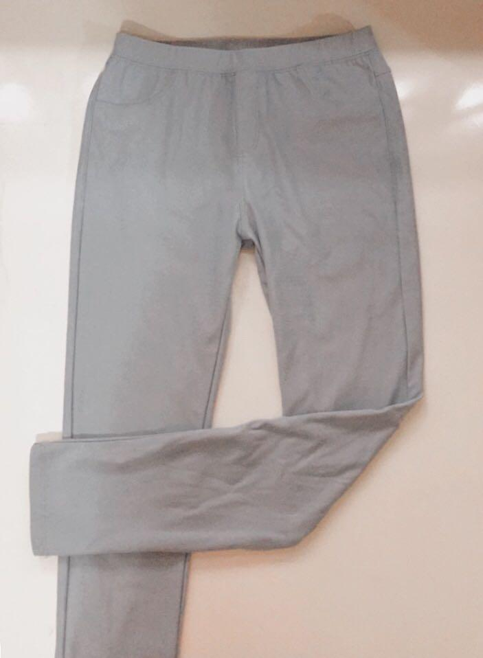 pastel blue leggings