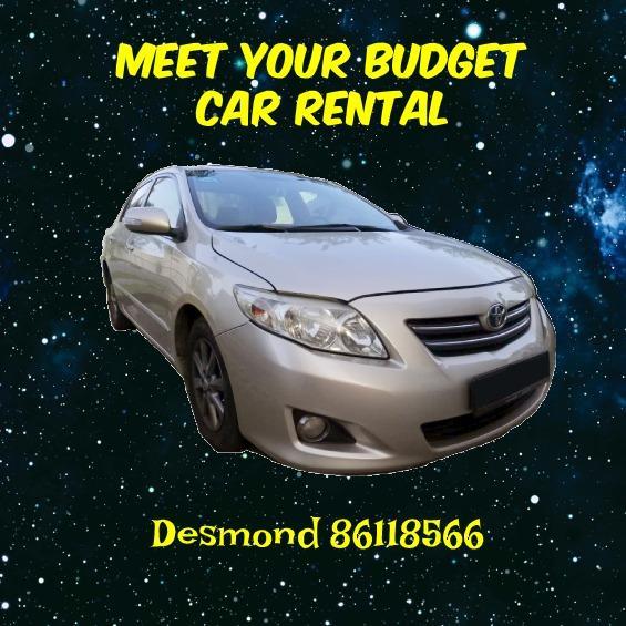 PHV/Private Cheap Budget Car Rental