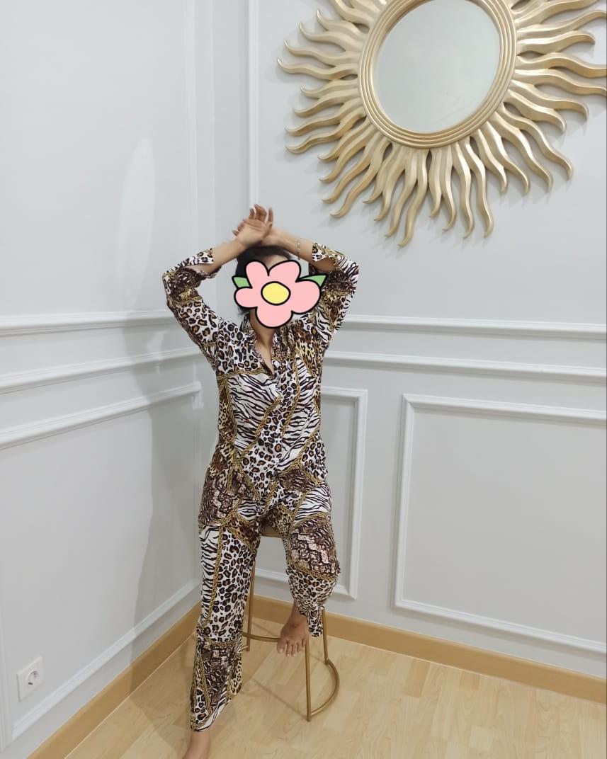 Piyama kece leopard