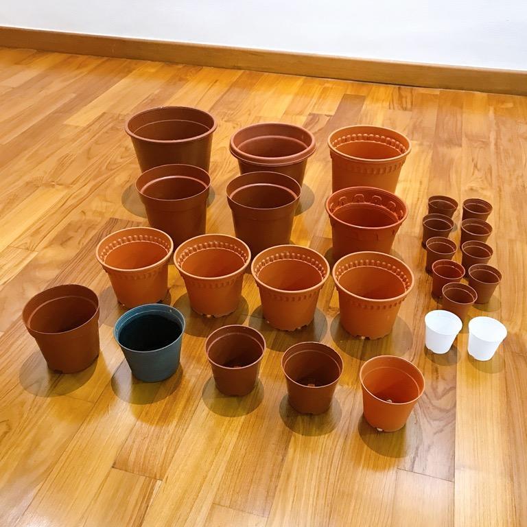 Plastic Gardening Pot (26pcs)