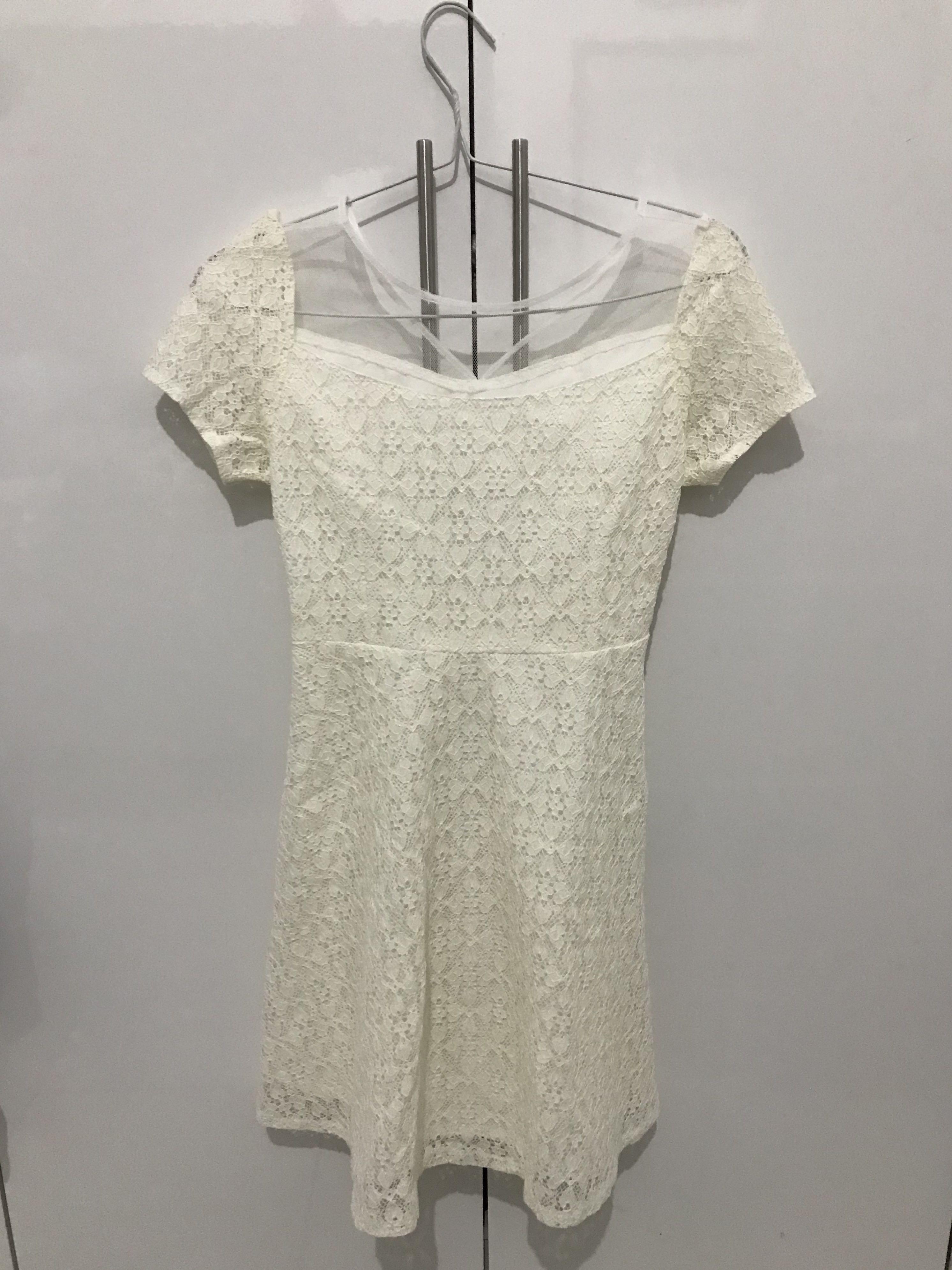 Premium dress white