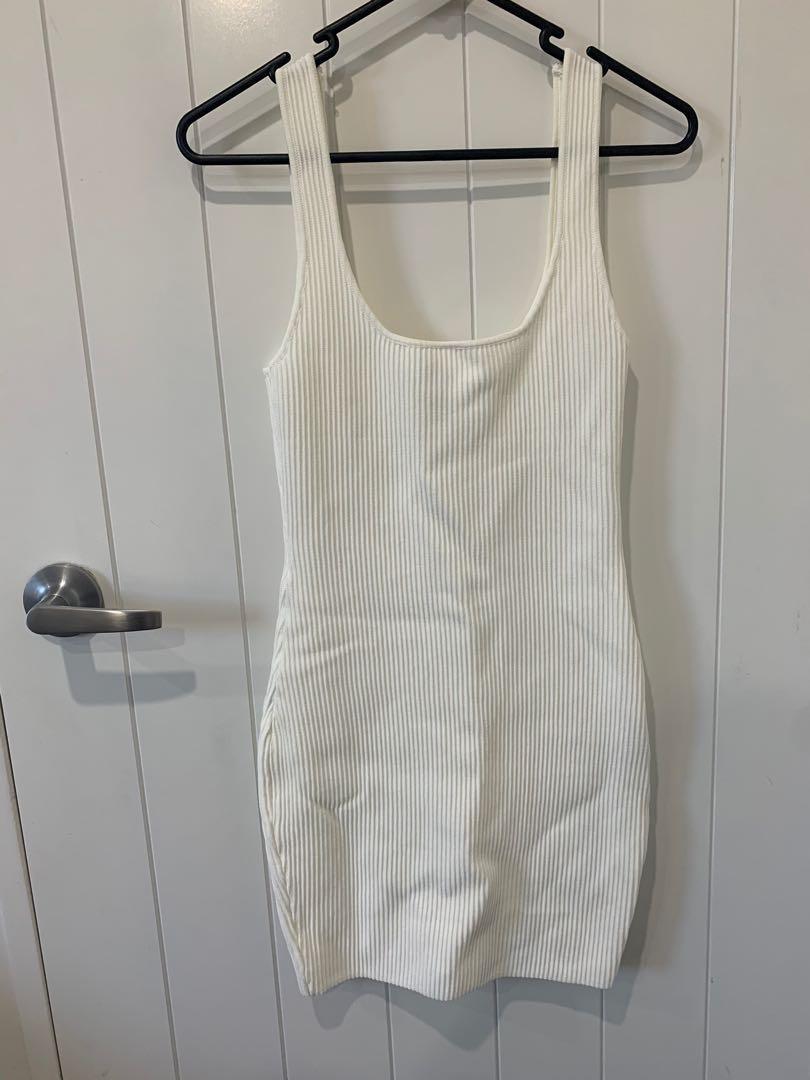 Princess Polly knit dress white