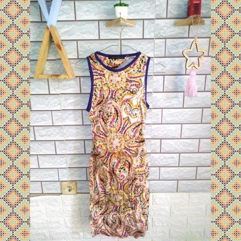#promodressaja Abstrak Dress - Zara Woman