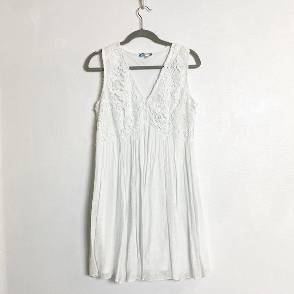 #promodressaja Dress Boho Putih - J.Gee