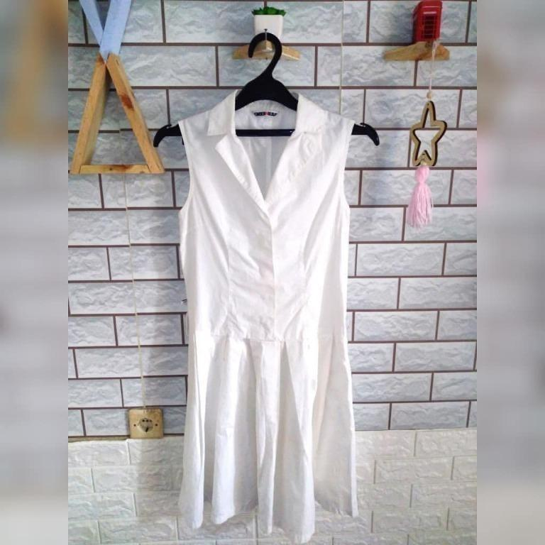 #promodressaja Dress Putih - Member Holiday