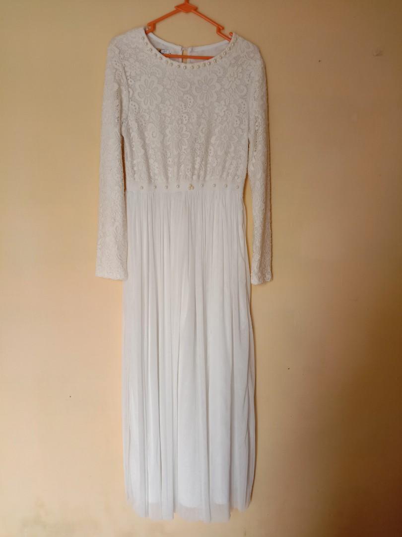 #promodressajaWhite Dress bruqat