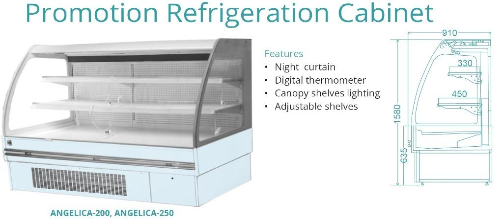 PROMOTION REFRIGERATION CABINET(ANGELICA-200)