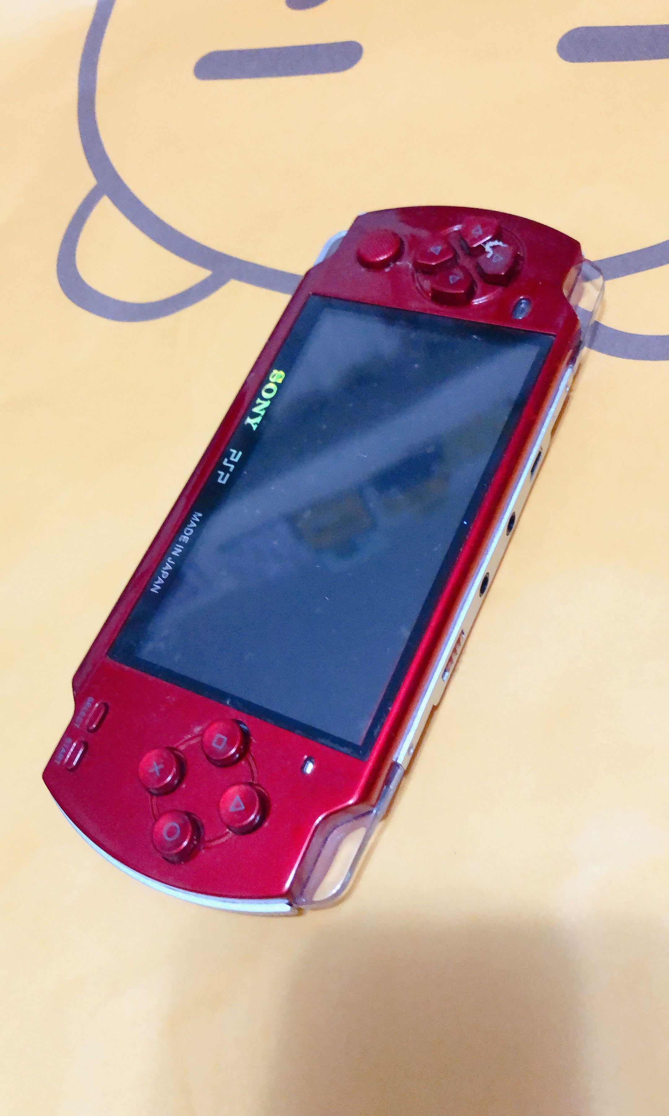 PSP紅色