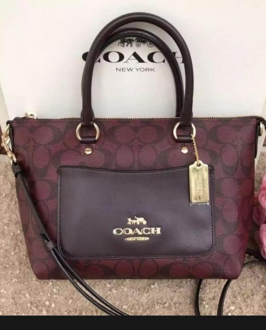 Readystock!Coach mini emma satchel bag