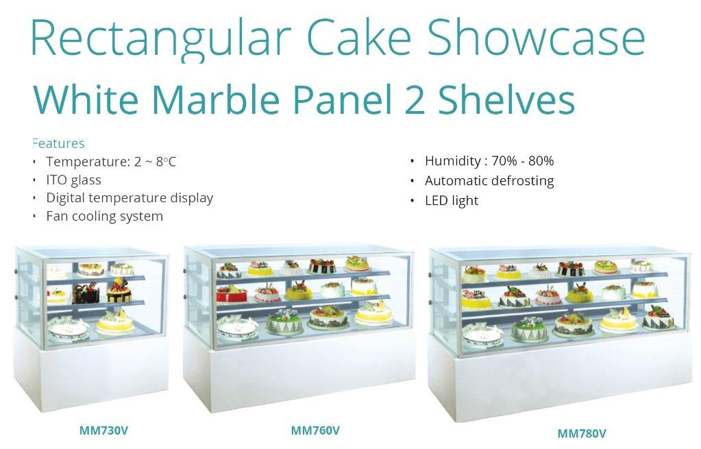 RECTANGULAR CAKE SHOWCASE(MM740V)