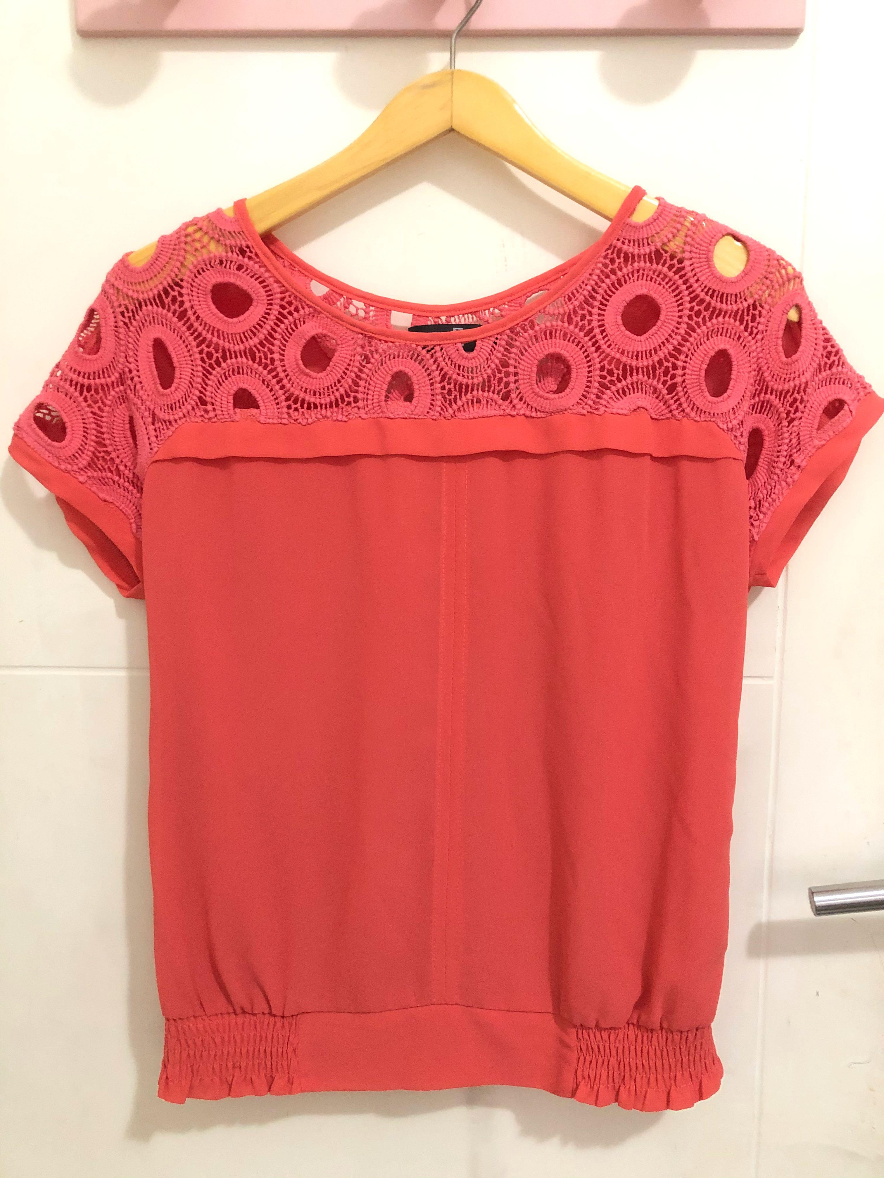 Red 2 blouse
